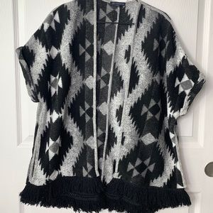 American Eagle Outfitters Aztec Print Cardigan